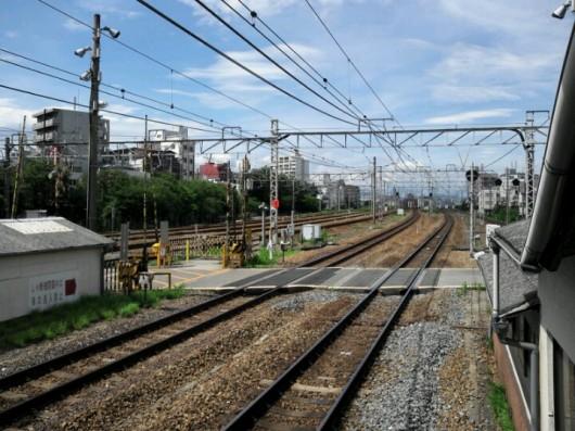 JR東淀川駅から北側を