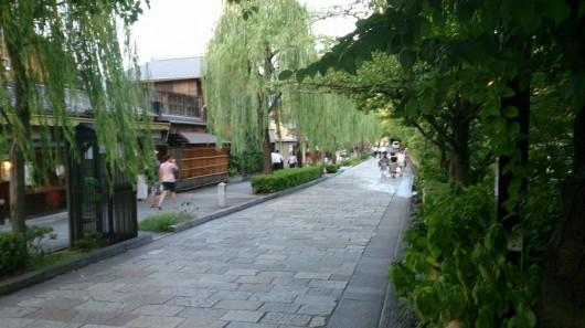 京都の夏の風景