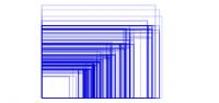 出回っている端末サイズをイラストで表した図。