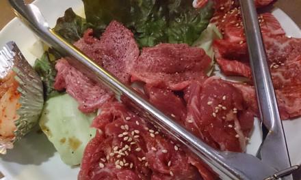みーとがぁでん箕面小野原店で焼き肉ランチを食らう