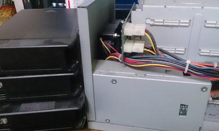 NAS(HDL-GT1.0)が温度異常エラーを出すようになった