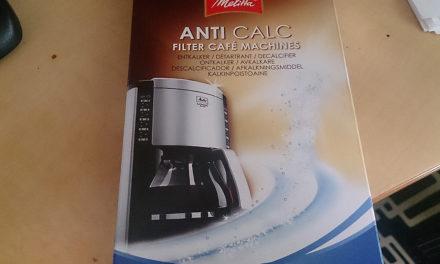 メリタ アンチカルキコーヒーメーカークリーナーを試してみました