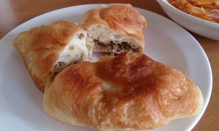 揚げパンに思いを馳せる – ピロシキを作ってみました。