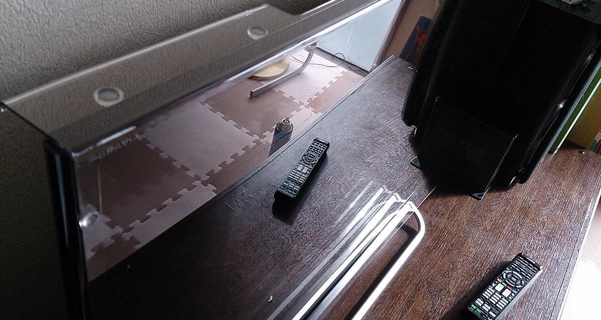 液晶画面保護用のアクリルパネル購入の巻
