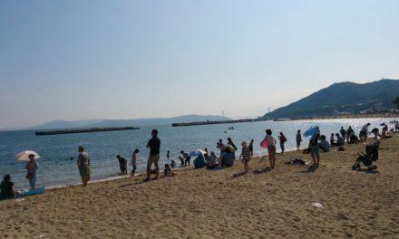 初の3人での遠出 ― 須磨の水族館、そして海岸へ
