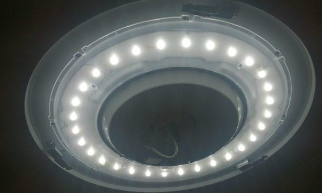 LEDシーリングがやってきた ― 照明器具は使い切りの時代へと