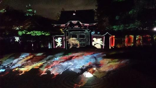 高台寺ライトアップ「百鬼夜行」