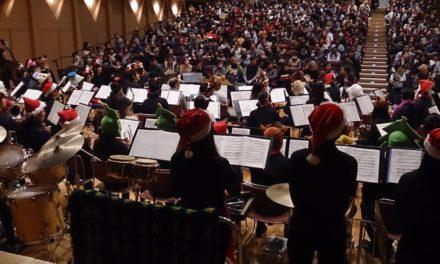 茨木市吹奏楽団のクリスマスコンサートに行ってきました