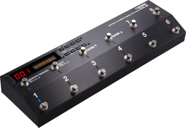 NAMM冬でBOSSからまさかのスイッチャー「ES-8」発表される