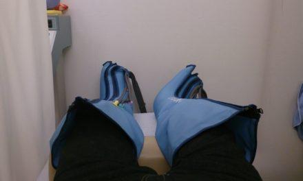 背中激痛再び ― 整骨院へGo(3度目)