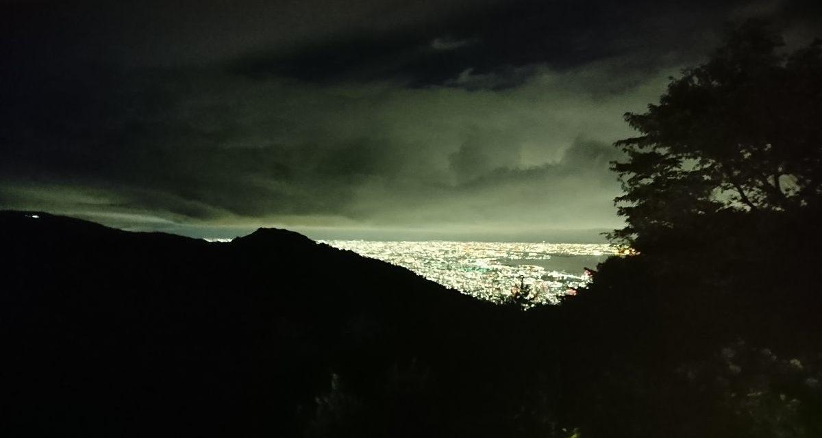 数年ぶりに見た景色 ― 摩耶山上からの風景