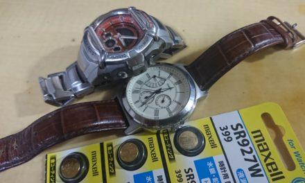 時よ再び動け ― 腕時計の電池交換にチャレンジしてみたの巻