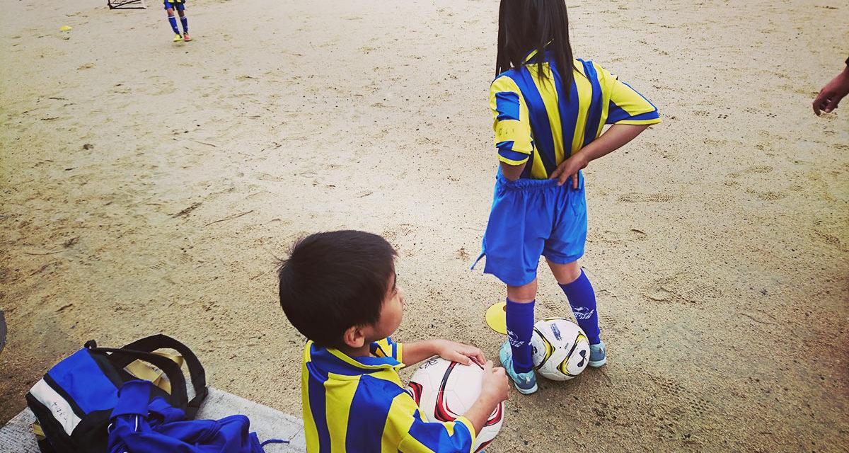 習い事 ― 姉弟で子供サッカー教室に行き始めました