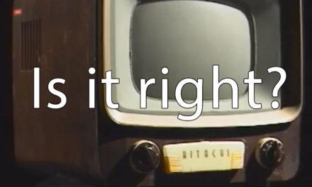 選挙と台風 ― テレビはすでに魔法の箱ではなくなった