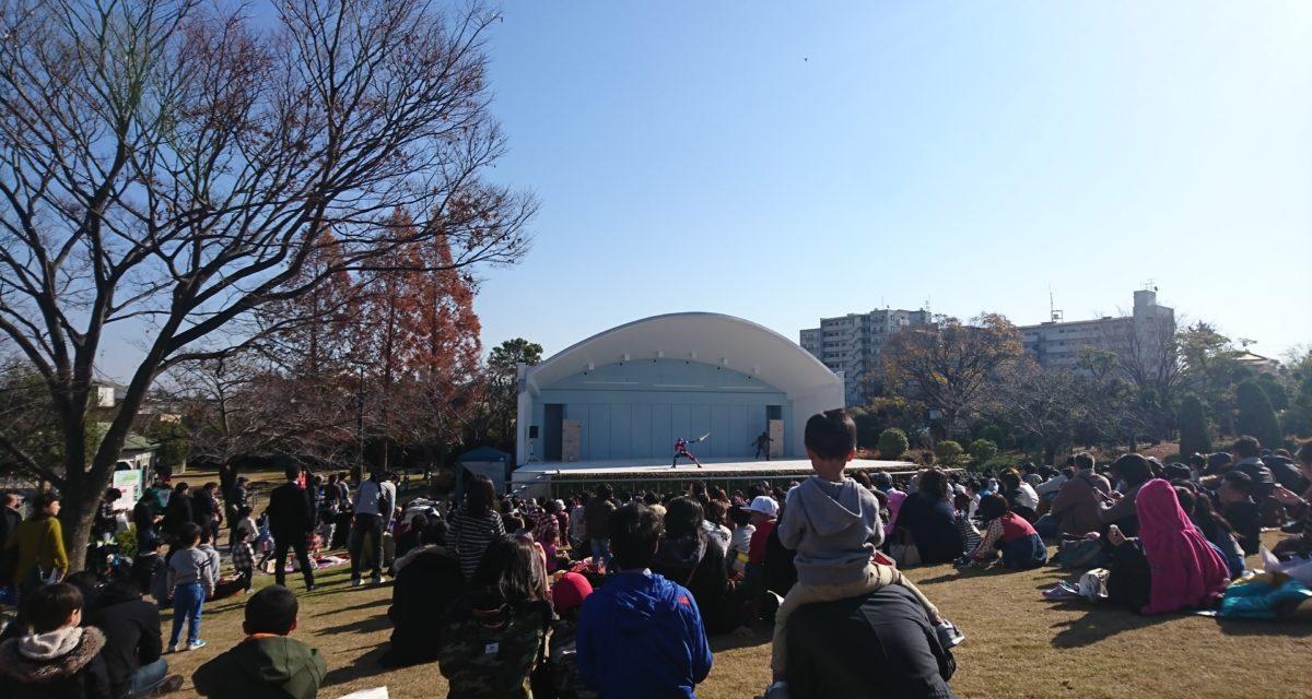 競馬 ― 仮面ライダービルドショーを見に初めての阪神競馬場へ