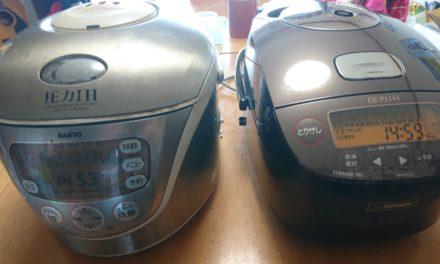 老兵 ― 13年ぶりに炊飯器を買い換える事になりました