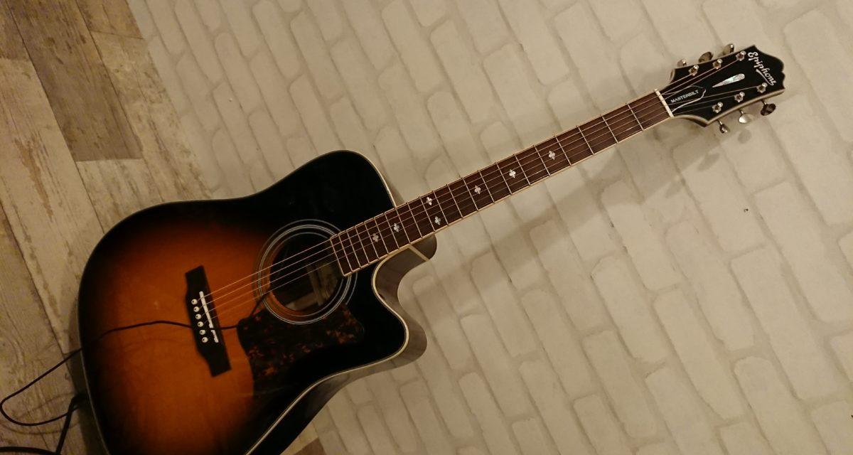 六弦 ― エピフォンのエレアコ「DR-500MCE」を買いました