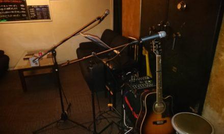 地元 ― 南森町で「GEKO」初ライブでした