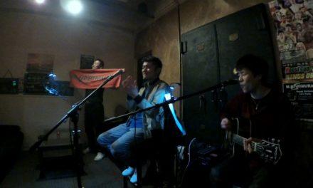 祝日 ―  南森町で「GEKO」5回目のライブ、そしてマスターの誕生日でした