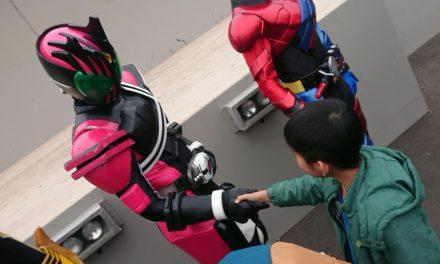伝説 ― 映画村で「仮面ライダー大集合バトル」を見て来ました