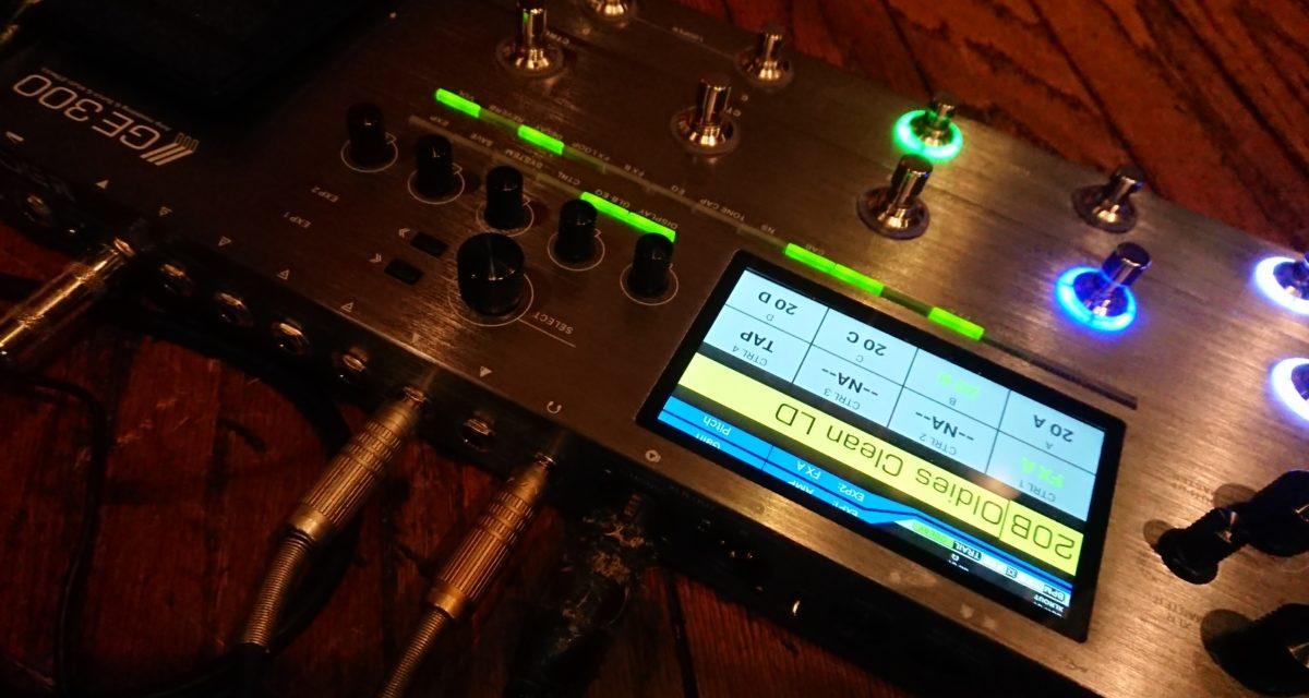 MOOER GE300がVer3.0.1にアップデートされました