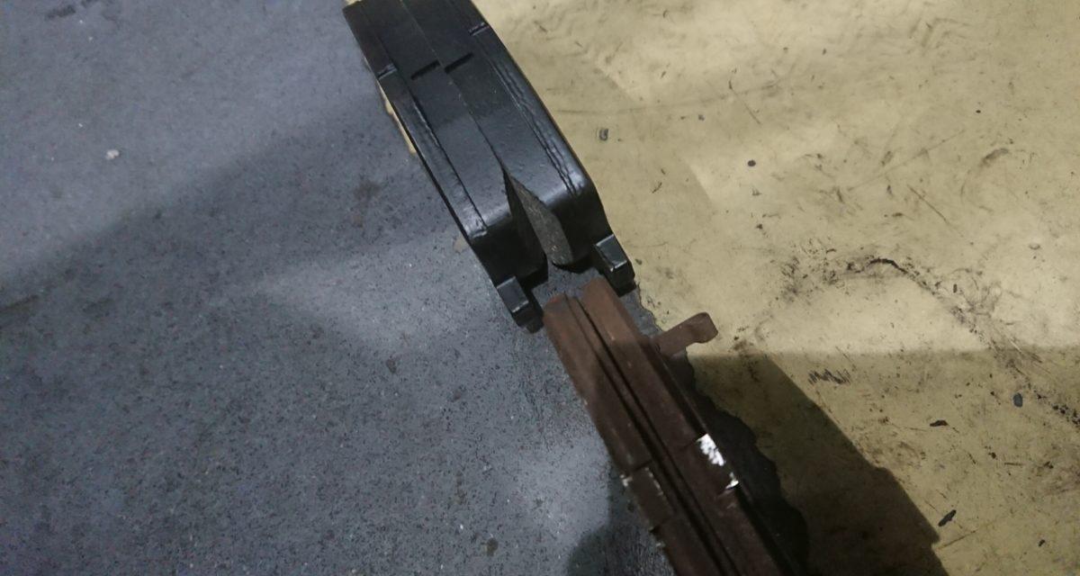 交換 ― AZR60G、ブレーキパッドをセルフ交換する