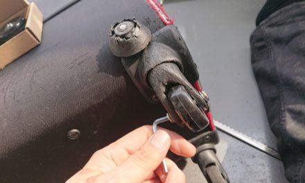 修復 ― コロコロキャリーのキャスターのタイヤのみを交換する