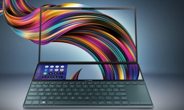 ノートPCをZenbook Duo UX481FL-HJ122Tに買い換えました