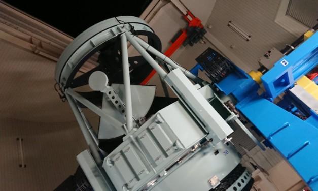 観測 ― 西はりま天文台にて望遠鏡に触れる