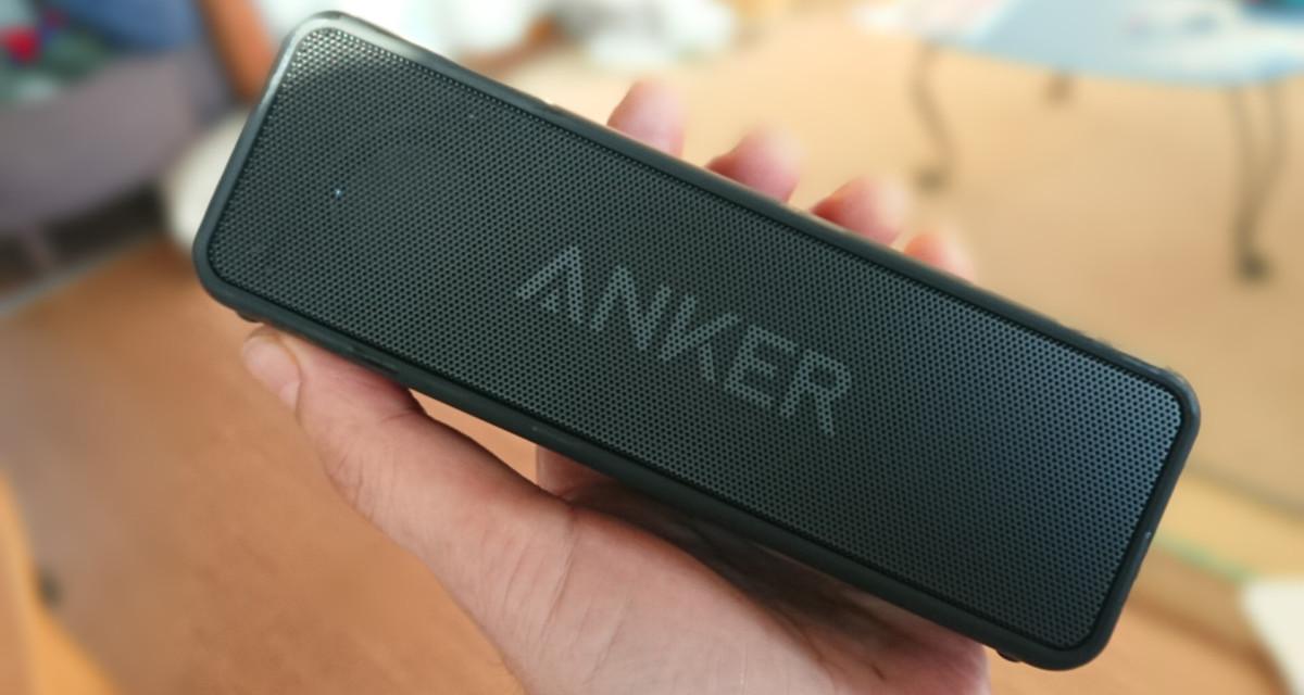 BluetoothスピーカーAnker Soundcore2を購入しました