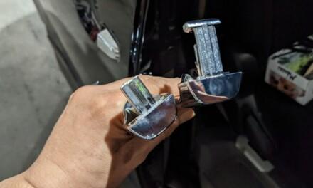 交換 ― AZR60Gのドアレバーをセルフ交換する