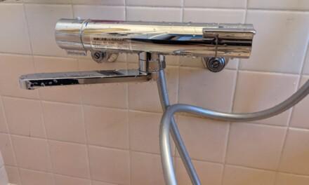 交換 ― 風呂場のシャワーカランの交換にチャレンジしてみた