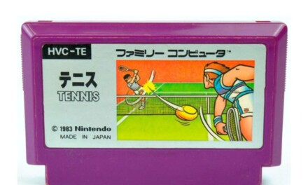 庭球 ― 凶悪な難易度のレベル5~ファミコン「テニス」1984の想い出