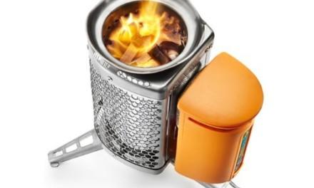 火を炊いてスマホを充電~バイオライトキャンプストーブ