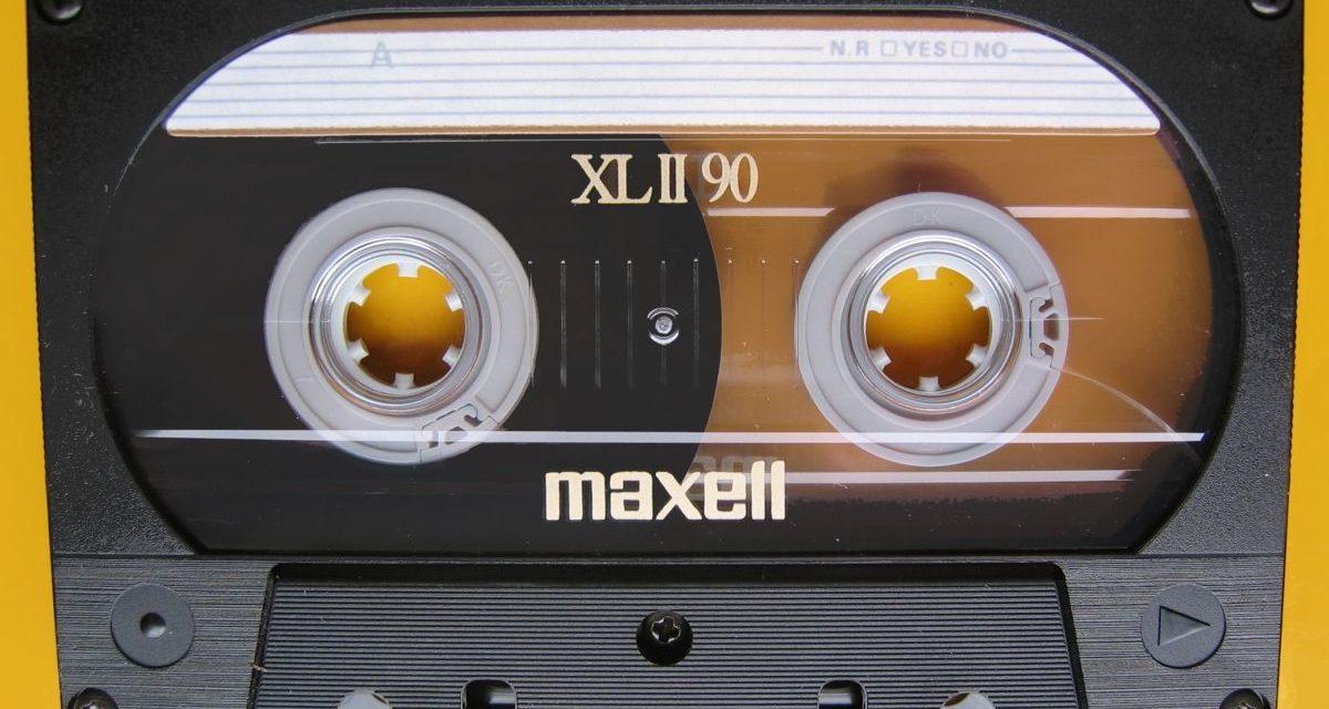 カセットテープの想い出を級友と語った夜