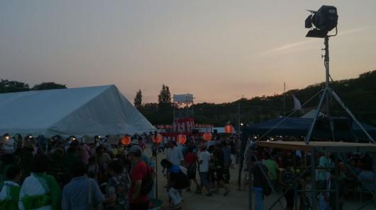 夏祭りの風景、2013