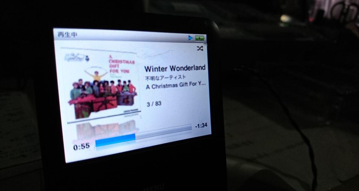 クリスマスソングの準備始めました