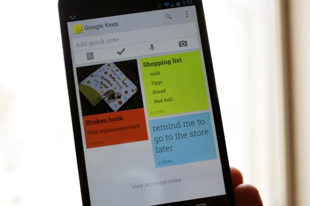 クラウドノートサービス「Google Keep」登場!しかし・・・