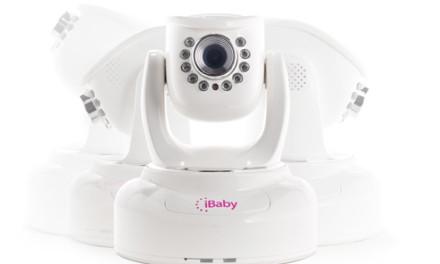 iPhoneと組み合わせてお部屋の赤ちゃんを監視できる「iBaby」