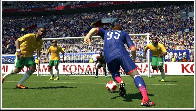 ワールドカップ2014が開幕しました – ウイイレ蒼き侍の挑戦