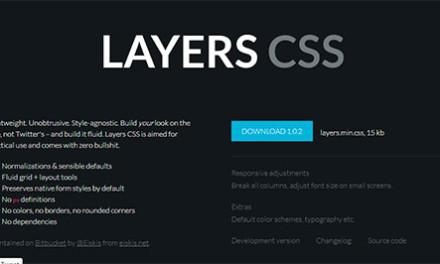 レスポンシブデザイン対応フレームワーク「Layers CSS」