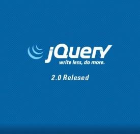 JQuery2.0が正式リリース~IE6,7,8は非対応