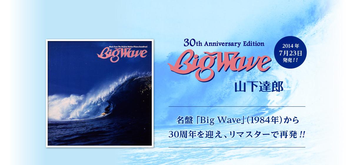 「BIG WAVE 30th Anniversary Edition」を聴いてみた