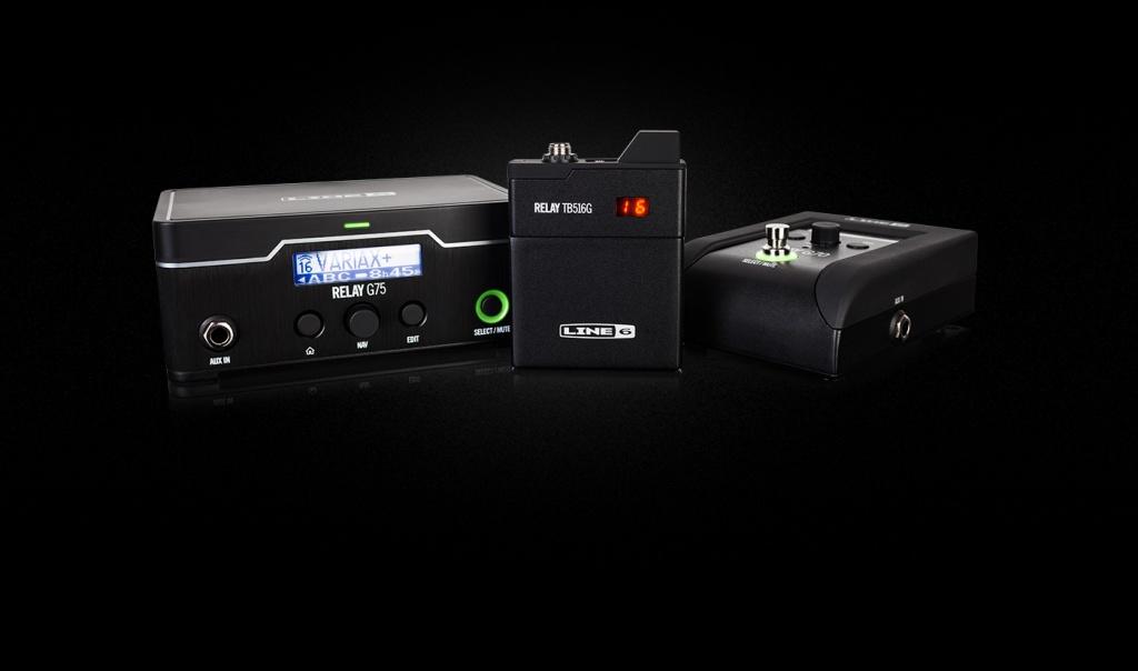 LINE6から新ワイヤレスシステム「Relay G70/G75」登場