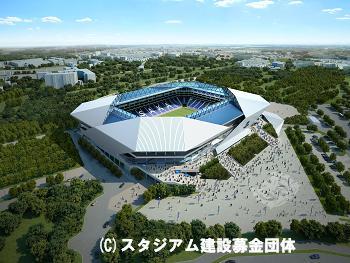 ガンバ大阪のサッカー専用新スタジアムが7月に着工